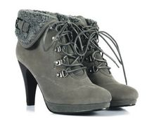 High Heel Ankle Boots