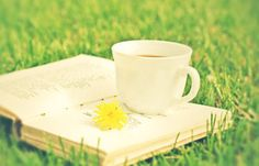 good book and a cup of tea by jnac