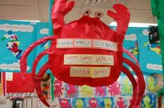 Ocean teaching ideas and crafts