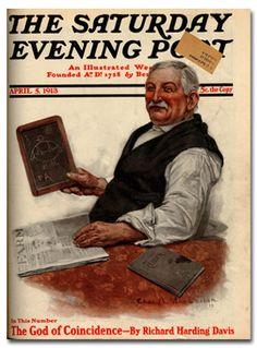 by Charles McClellan, April 5, 1913, Saturday Evening Post.