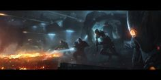ArtStation - Invasion, Wojtek Fus