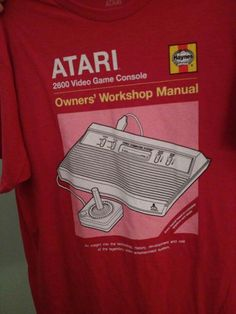 #Atari T-shirt #gaming #gamer #clothing