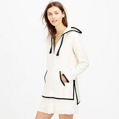 J.Crew - Collection linen Baja hoodie