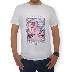 AQUÁRIO | THE WATER BEARER  #tees #t-shirt #astrology #astrologia #zodiac #zodíaco #sky #céu #art #aquário #aquarius
