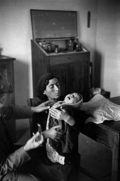 Henri Cartier-Bresson, olivetto, Basilicate, Italie, 1951. © Henri Cartier-Bresson/Magnum Photos.