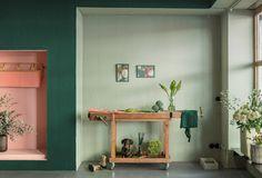 Frische Farben Braucht Die Wand In 2020 Wandfarbe Grun Farben