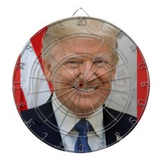 Donald Trump dart board - tap/click to personalize and buy  #trump #politics Us Government, Dart Board, Indoor Games, Party Hats, Gifts For Dad, Donald Trump, Art Pieces, Politics, Dad Gifts