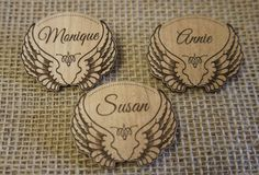 Woodcard - Wooden Name Badges and Tags