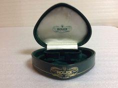 ROLEX VINTAGE RARE HEART / SHELL SHAPED WATCH BOX STUNNING ANTIQUE + FREE SHIP  #Rolex