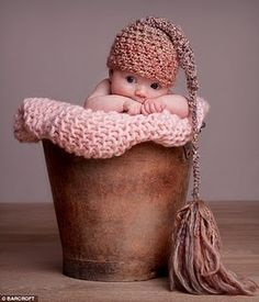 Baby in a bucket :)