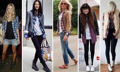 #tendencia #camisa #xadrez #fashion #inverno #moda