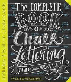 Chalk Lettering with Soft Shadow Lines | Mother Earth Living