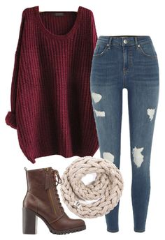 """""""#301"""" by mintgreenb ❤ liked on Polyvore featuring WithChic and River Island"""