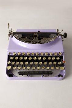 Fun Vintage Typewriter