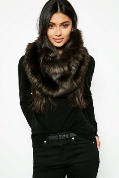 Jack Wills Blisthorpe Faux Fur Snood - ShopStyle Scarves Faux Fur Accessories, Fall Trends, Couture, Flower Dresses, British Style, Modern Fashion, Fall Outfits, Scarf Outfits, Fashion Advice