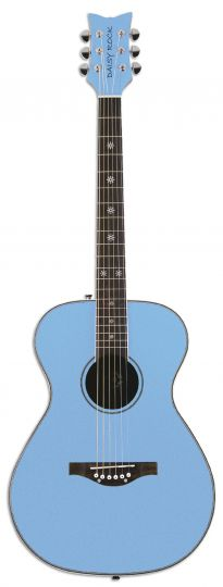 Light Blue Guitar