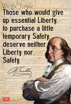 Franklin On Liberty Mini-Poster Franklin On Liberty Mini-Poster: Teacher's Discovery Great Quotes, Quotes To Live By, Me Quotes, Inspirational Quotes, People Quotes, Debate Quotes, Lyric Quotes, Tattoo Quotes, Motivational Quotes