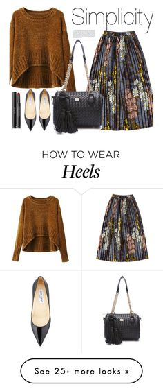 """""""Rosegal 40"""" by merima-kopic on Polyvore featuring Jimmy Choo and Chanel"""