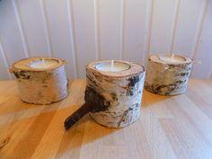 Eierbecher - Versandkostenfrei: 3er Set Kerzenständer - ein Designerstück von Woellfchen bei DaWanda