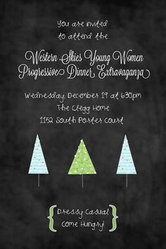 Frolicking Night Owl: Young Women Christmas Extravaganza