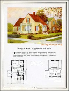 https://flic.kr/p/JDg4FR | Morgan House Plan Suggestions::Building with Assurance | Building with Assurance - 1923 www.antiquehome.org