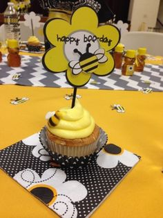 """We just finished holding the Annual Relief Society Birthday Party and this was a fun one to plan. We chose to call it the """"BEE""""-day party!..."""