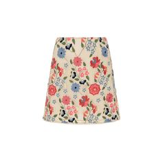 Manoush (39.660 RUB) ❤ liked on Polyvore featuring skirts, mini skirts, floral mini skirt, floral print skirt, high waisted a line skirt, high-waisted skirts and floral print a-line skirt