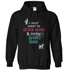 GREAT DANE - #gift bags #food gift. GET YOURS => https://www.sunfrog.com/Pets/GREAT-DANE-2993-Black-11642921-Hoodie.html?68278