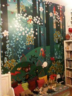 Charlotte Gastaut's daughter's room