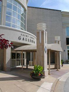Saint Louis, Missouri -- Galleria Shopping Center / Travel Photos by Galen R Frysinger, Sheboygan, Wisconsin