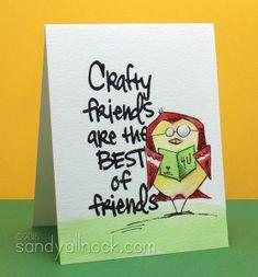 Bird Crazy Stamps – Crafty Friends