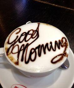 Bom dia!!! Com confiança, esperança e energia!