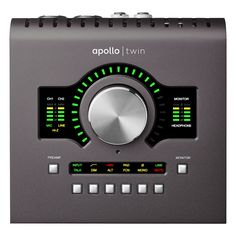 Universal Audio Apollo Twin MkII Quad Thunderbolt Interface - Andertons Music Co. Quad, Monitor, Phantom Power, Bass Amps, Digital Audio, Guitar Amp, Recording Studio, Apollo, Musical Instruments