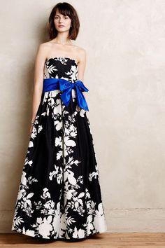 Iberis Strapless Dress - anthropologie.com