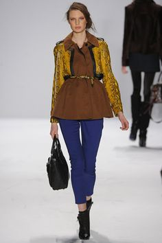 Rebecca Minkoff Fall 2012 Ready-to-Wear