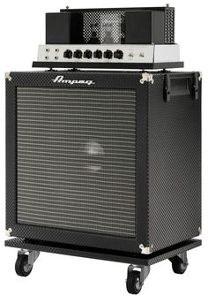 Ampeg Limited Edition All-Tube Heritage B-15 30W Bass Flip-Top Combo Amp Black Diamond Tolex