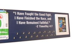 medals display rack  inspirational quote by runningonthewall