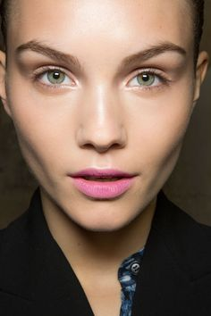 Spring 2013 Beauty Breakdown: The top trends of the season and how to get them - Prom Makeup Makeup Inspo, Makeup Art, Makeup Inspiration, Eye Makeup, Prom Makeup, Makeup Ideas, Runway Makeup, Night Makeup, Blue Eyeshadow