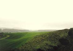 Gerhard Richter  Landscape Near Koblenz (1987)via