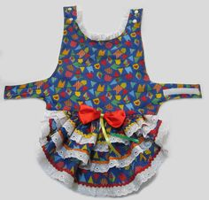 Vestido Pet Junina - Tam. 03 (M)