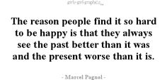 hard to be happy