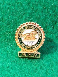Ohio Lapel Pin Badge Engraved Personalised Box