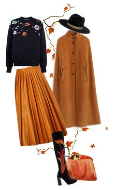 """Autumn wind"" by bel-ochka ❤ liked on Polyvore featuring J.Crew, By Malene Birger, Victoria, Victoria Beckham, Janessa Leone and Jeffrey Campbell"