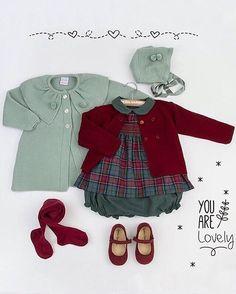 Qué maravilla de conjuntito de @donacarmenbebes ideal Beautiful ❤️❤️•••Si te gusta déjanos un comentario, nos importa!! Gracias!! #modaespañola #modainfantil #ropaespañola #ropainfantil #hechoenespaña #madeinspain #modaespaña #kidsstyle #niñasconestilo #spain #modainfantilchic #kidsfashion #cutekidsfashion#fashionkids #baby#babygirl#sweetbaby#babyfashion #cutekidsclub#instababy#littlebaby#modainfantilespañola #modainfantilmadeinspain Cute Kids Fashion, Cute Outfits For Kids, Little Girl Fashion, Baby Outfits, Spanish Baby Clothes, Fall Baby Clothes, Vintage Baby Clothes, Baby Girl Fall, Baby Coat