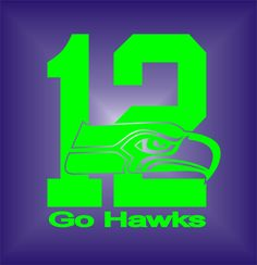 Seattle Seahawks Twelwlth Man Vinyl Decal by CroziGraphics on Etsy Seahawks Gear, Seahawks Fans, Seahawks Football, Nfl Football Teams, Sports Teams, Nfl Seattle, Seattle Seahawks, Seattle Skyline, Window Decals