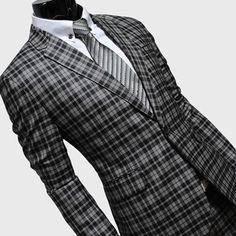 Black and Grey check . . .