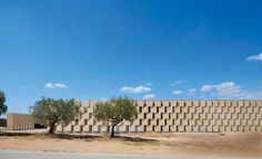 A winery's new production facility in southeastern France makes its mark on a rolling landscape.