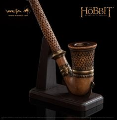 THE HOBBIT: AN UNEXPECTED JOURNEY : PIPE OF FILI THE DWARF $125.00 i pinned this because-- look at the price!!! that's one expensive pipe!