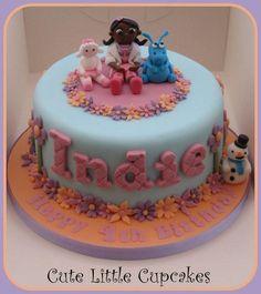 Doc McStuffins Birthday Cake - CakesDecor
