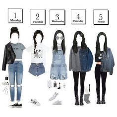 There is 0 tip to buy jacket, denim jacket, pants. Help by posting a tip if you know where to get one of these clothes. Teenage Girl Outfits, Teen Fashion Outfits, Stage Outfits, Kpop Outfits, Teenager Outfits, Cute Casual Outfits, Outfits For Teens, Casual Teen Fashion, Cozy Fashion